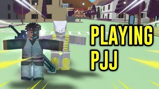 Playing Project JoJo for the FIRST time | Roblox: PJJ