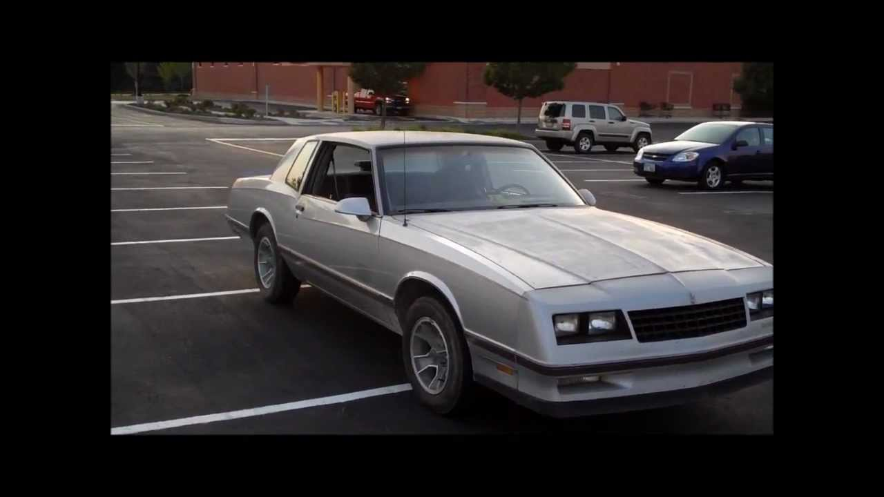 Ss Monte Carlo >> 1987 Monte Carlo SS BACK ON THE ROAD!!! Classic G-Body ...