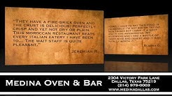Medina Oven & Bar - (214) 979-0003 - Restaurant Reviews - Dallas TX