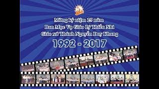 Mừng kỷ niệm 25 năm Ban Mục Vụ Giáo Lý Thiếu Nhi Giáo xứ Thánh Nguyễn Duy Khang