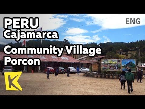 【K】Peru Travel-Cajamarca[페루 여행-카하마르카]공동체 마을 포르콘/Porcon/Community/Village/Alpine