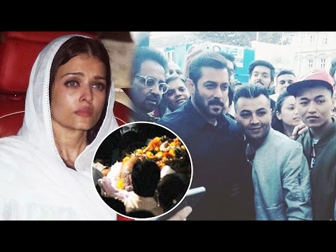 Thumbnail: Aishwarya Rai TEARY Eyed At Father's Last Rites, Salman Khan Poses With Fans In Austria