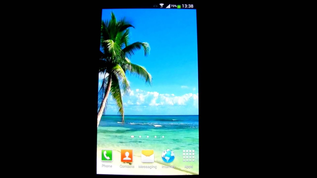 beach live wallpaper hd - youtube