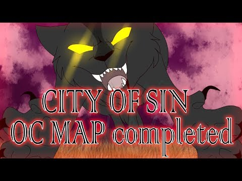 OC MAP|City of Sin|COMPLETED