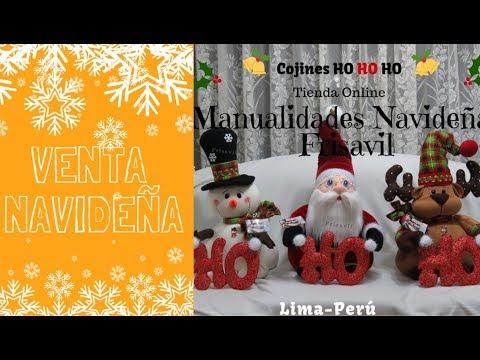 Cojines Navidad Manualidades.Cojines Ho Ho Ho Venta Navidena