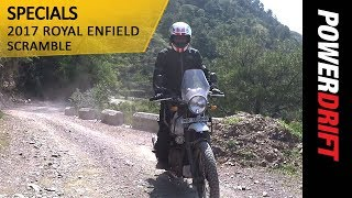 Beyond The Ride : What is the Royal Enfield Scramble? : PowerDrift