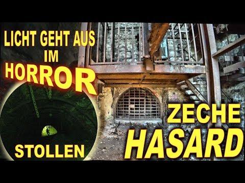 Lost Place ...Die Zeche Hasard / Cheratte ... Ohne Licht tief im Horror-Stollen