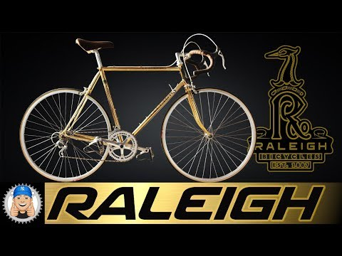 Gold Plated Raleigh Road Bike Special Centenary Edition