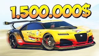 СУМАСШЕДШИЙ ТЮНИНГ МАШИНЫ ЗА 1500000$ В GTA 5 ONLINE (ГТА 5 ИМПОРТ/ЭКСПОРТ)