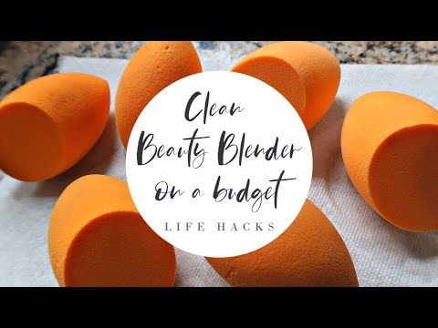Beauty Blender Hack| How to Clean Beauty Blender/Beauty Sponge on A Budget!