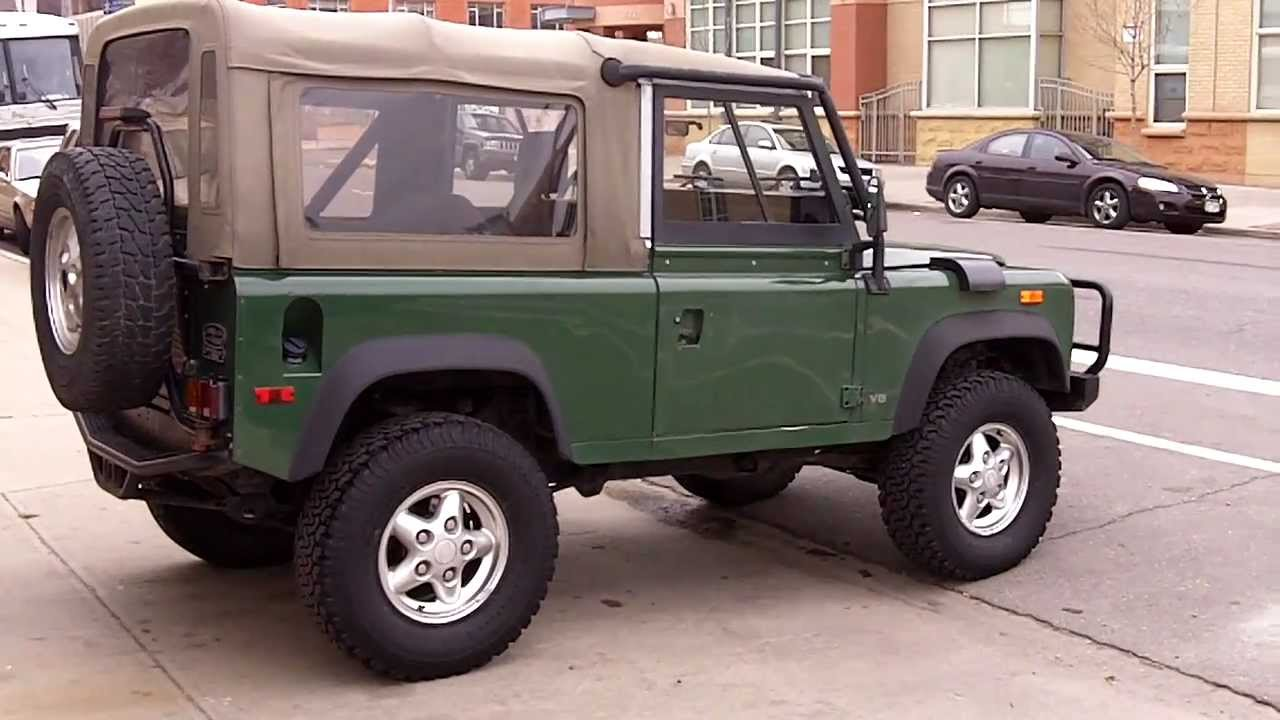 1994 land rover defender 90 conniston green for sale