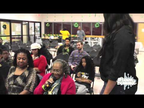 Irma P. Hall speaks at Free The Streets  Teen Summit Series Season 2 Ep. 2