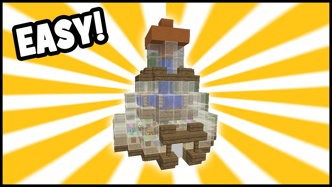 Minecraft Tutorial How To Make A Potion Hut Brewing House Youtube
