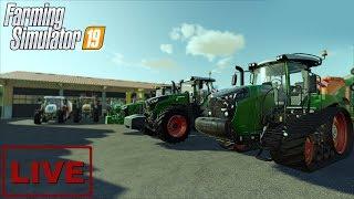 "???? [LIVE] Farming Simulator 19 - ""Średnio - gruba akcja"" - Na żywo"