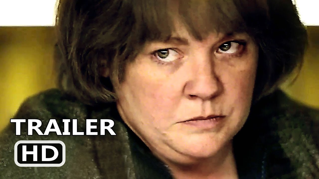 Can You Ever Forgive Me Official Trailer 2018 Melissa Mccarthy