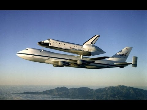 space shuttle launch from 747 - photo #2