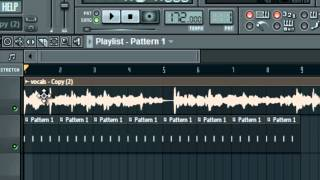 How to Fit an Acapella to a Beat in FL Studio
