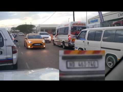 Taxi Drivers in South Africa