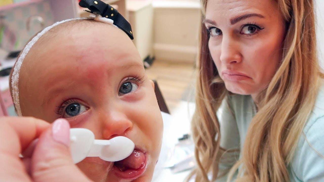 WHEN BABIES GET SICK :( - YouTube