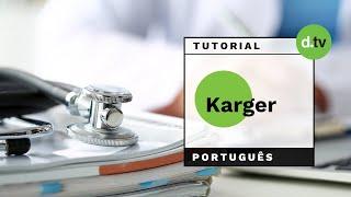 DOTLIB - Karger (Português) - Tutorial