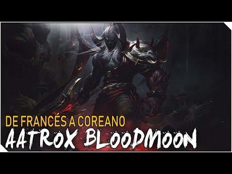 DE FRANCES A COREANO REMASTERED | 5 Campeones empezando en Hierro - AATROX BLOODMOON!!