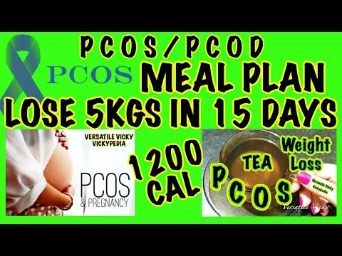 PCOS Meal Plan Hindi | PCOS PCOD Diet Plan | Control 90% PCOS in 15 Days | Lose Weight Fast – 5Kg