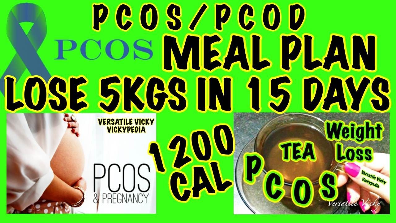 PCOS Meal Plan Hindi | PCOS PCOD Diet Plan | Control 90% ...