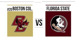 Week 12 2018 #20 Boston College vs Florida State Full Game Highlights