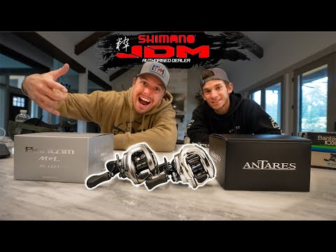 Unboxing $900 Japanese Fishing Reels - JDM