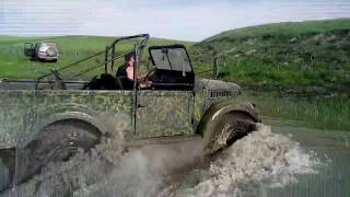 GAZ-69 off road experience