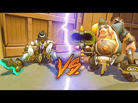 1 Top 500 Lucio vs 6 Bronze - Who Wins? [INSANE GAME] - Overwatch thumbnail