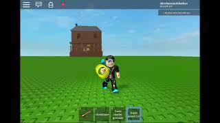 Roblox - Vitor B.L lancer la grenade Super Matter avec Monster House