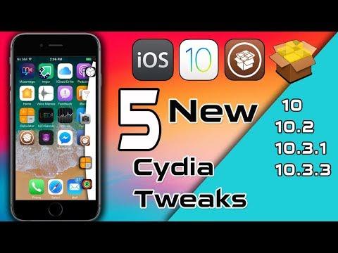 New iOS 10.X - 10.3.3 Cydia Tweaks / 2018