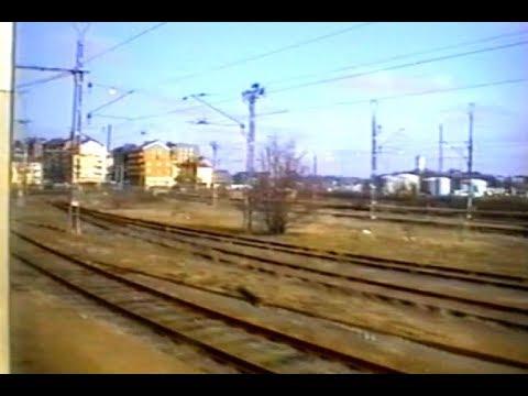 Fiat-Engine sound of Y1 railcar 1322. Karlskrona - Emmaboda (1999) (Sweden)