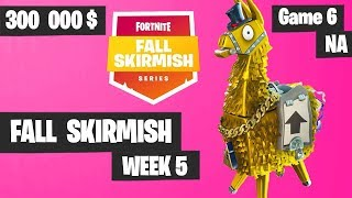 Fortnite Fall Skirmish Week 5 Game 6 NA Highlights (Group 2) - Royale Flush