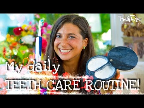 My Daily Raw Vegan Teeth Care Routine | All-Natural Dental Hygiene