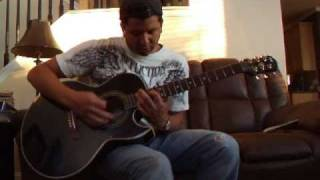 So Cold Live Acoustic by Breaking Benjamin Re-Tuned Guitar Cover + Instruction