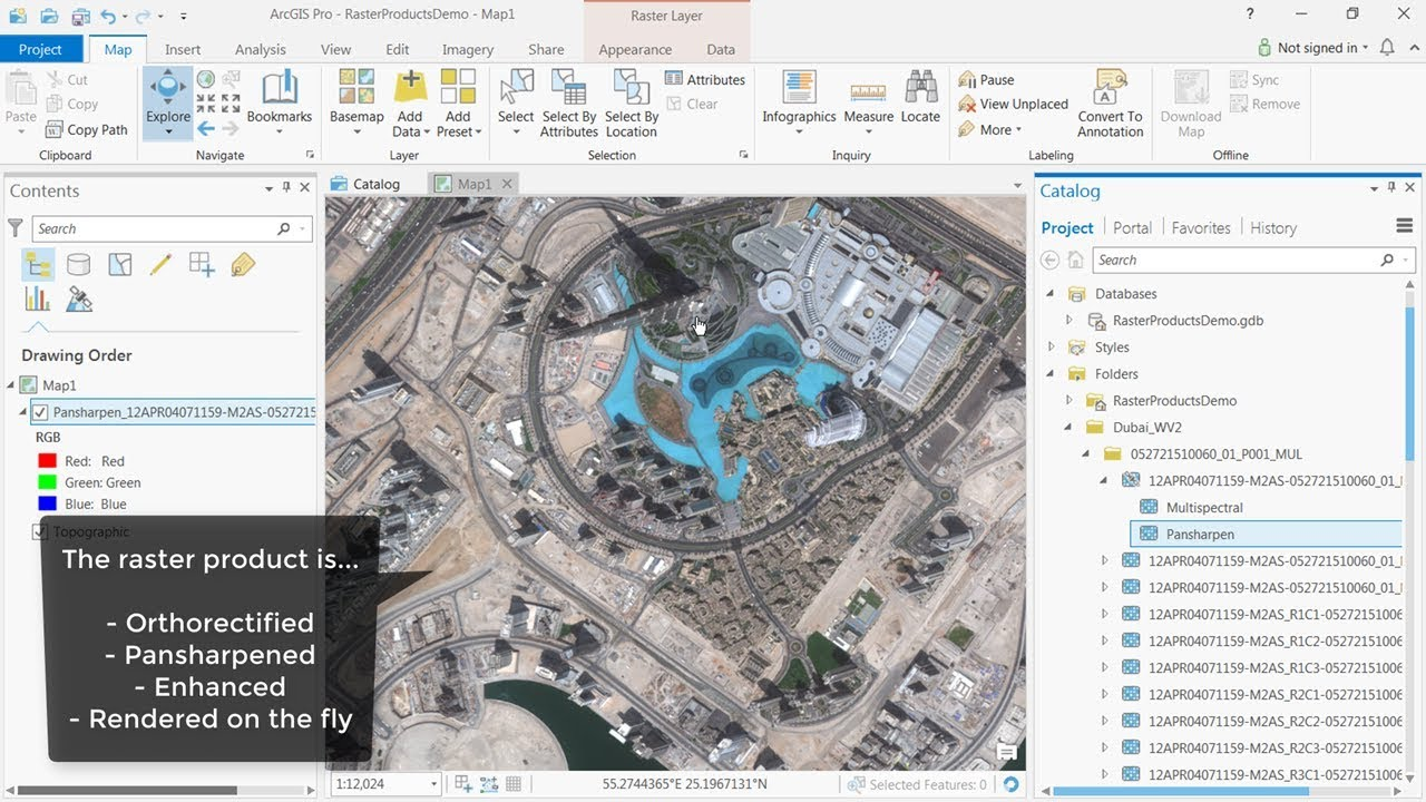 Share tile package arcgis pro