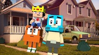 Minecraft - WHO'S YOUR DADDY? - DARWIN É RETARDADO !! (MUNDO DE GUMBALL MINECRAFT MOD)