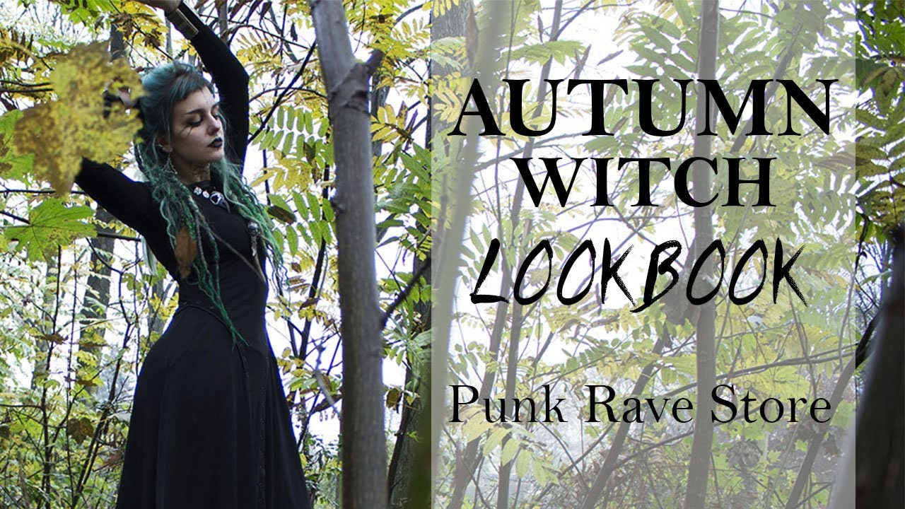 AUTUMN WITCH LOOKBOOK | PUNK RAVE 1