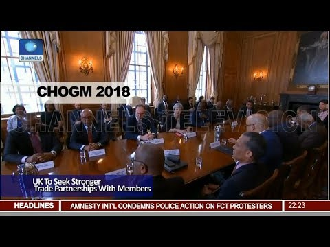 UK To Seek Stronger Trade Partnerships With CHOGM Members Pt.2 |News@10| 17/04/18