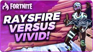 Huge Build Fight vs. Liquid Vivid + Analysis! | Fortnite Battle Royale Gameplay | raysfire