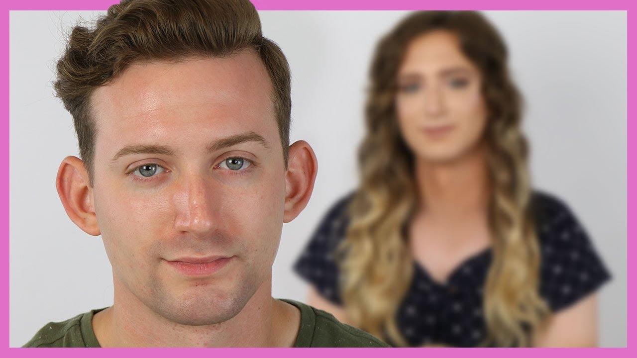 Download Male To Female (MTF) Transgender Makeup Tutorial - No HRT   Casey Blake