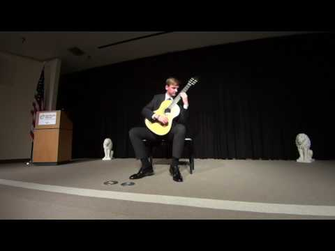 Sean McCrary classical guitar concert part one.
