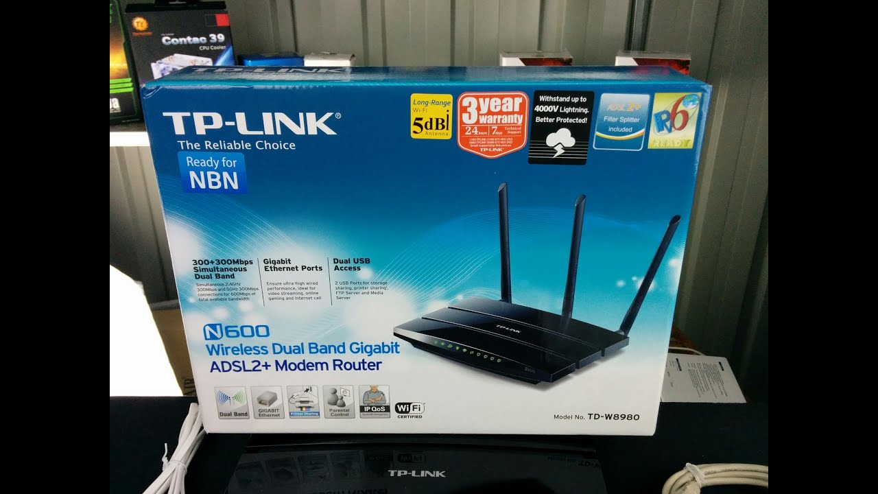 TP-Link N600 unboxing and overview - YouTube