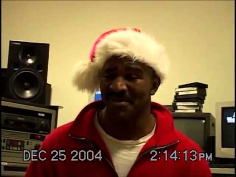 Christmas Karaoke with Evander Holyfield part 3