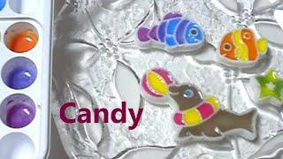popin cookin - Coloring Activity Candy おえかきキャンランド Thumbnail