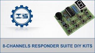 8-channels Responder Suite Diy Kits