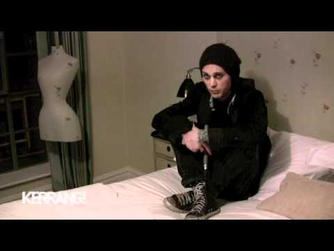 Ville Valo in bed answers questions LOL  sexy Ville says RRRRRomantic so SEXY!