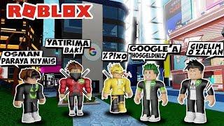Estamos Configurando o GOOGLE FACTORY/Google Factory Tycoon/Roblox inglês com linha de jogo